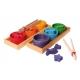 Ciotoline arcobaleno - gioco di associazione
