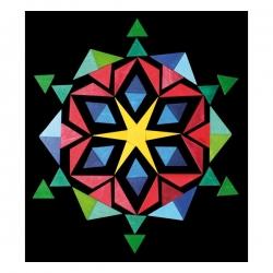 Puzzle magnetico 2 Tangram con istruzioni