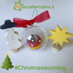 Trottola Palla di Natale il Tarlo