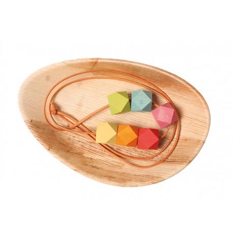 Collana in legno Colori di primavera