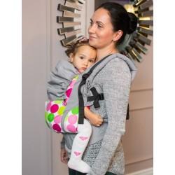 Marupio ergonomico regolabile Isara V3 Disco Dots toddler - spedizione gratuita