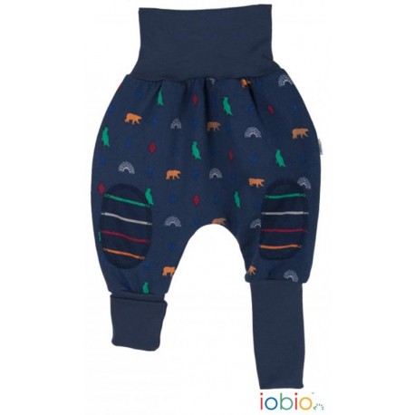 Pantaloni Joga Polar Experience cotone bio GOTS IoBIO - Polar print