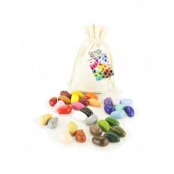 Sacchetto 32 pezzi Crayon Rocks in cera di soia vegan