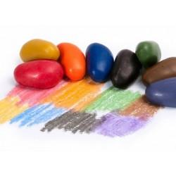 Sacchetto 8 pezzi Crayon Rocks in cera di soia vegan
