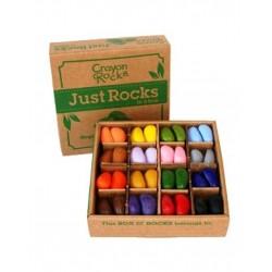 Scatola 64 pezzi Crayon Rocks - Just Rocks!
