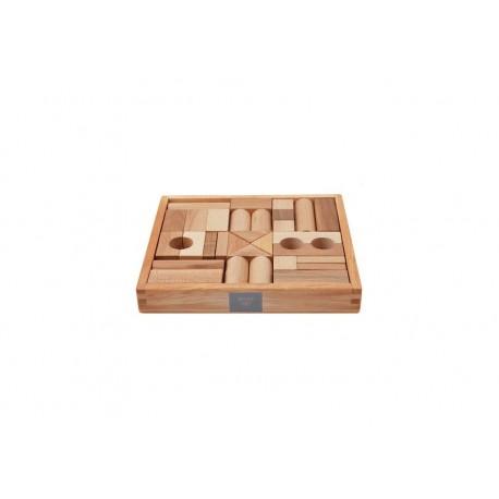 Costruzioni in legno naturale - 30 pz