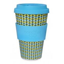 Ecofee cup Norweaven tazza riutilizzabile e biodegradabile 400ml