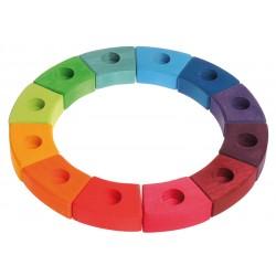 Cerchio arcobaleno - 12 spazi