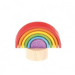 Personaggio in legno Grimm's - arcobaleno