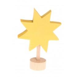 Personaggio in legno Grimm's - stella