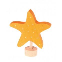 Personaggio in legno Grimm's - stella marina