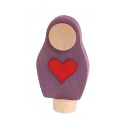 Personaggio in legno Grimm's - Matrioska cuore