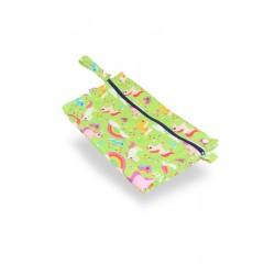 Wet bag in PUL Petit Lulu fantasia Pretty Ponies