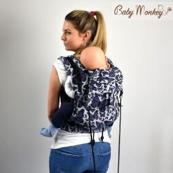 Marsupio ergonomico Regolo Babymonkey Butterfly - spedizione gratuita