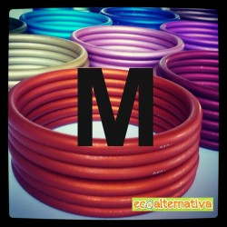 Anelli in alluminio Medium Sling Rings (coppia)