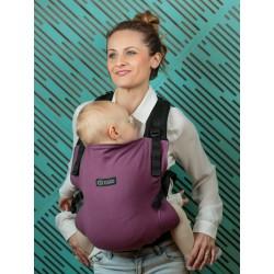 Marsupio ergonomico regolabile Isara V3 Burgundivine toddler half wrap conversion - spedizione gratuita