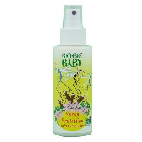 Spray antizanzare Bio Bio Baby certificato ICEA