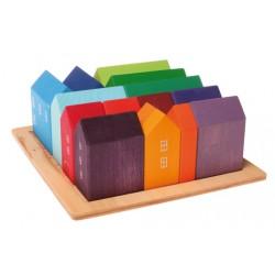 Casette in legno dipinte a mano - Grimm's
