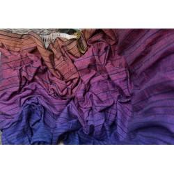 Fascia Girasol tessitura diamante - Light rainbow