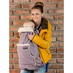 Cover in Softshell Isara - Frosted Almond Taupe