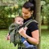 Marsupio ergonomico Regolo Babymonkey Mehindi Verde - spedizione gratuita