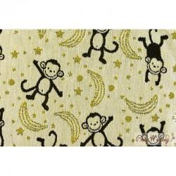 Marsupio ergonomico Regolo Babymonkey Little Monkey - Curry Reverse-  spedizione gratuita