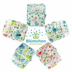 Pannolino lavabile AIO - Blumchen