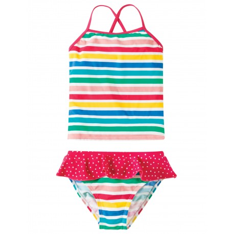 Costume Tankini - Summer Stripe - Frugi