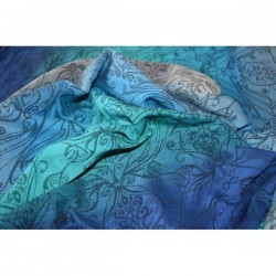 Fascia ad anelli Yaro Elvish Aqua Grad Back Linen