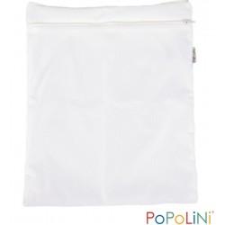 Wet bag doppia tasca - bianca - Popolini