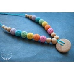 Collana Double Aqua Rainbow