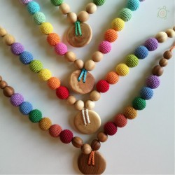 Collana Double Simple Rainbow