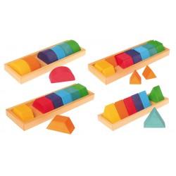"""Set costruzioni - Forme e colori"""" - Grimm's"""