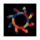 Cerchio di Goethe - puzzle magnetico Grimm's Spiel und Holz Design